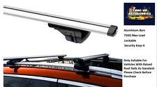 Barras de techo de bloqueo de aluminio/Cruz rieles para Mercedes CLK Cabrio 03-09