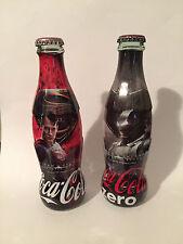 COCA COLA BATMAN vs SUPERMAN BOTTLES EMPTY