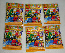 Lego Series 18 40th Anniversary Sealed Minifigures Lot 6 Party No Duplicates