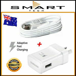 Genuine Samsung Galaxy Adaptive Fast Wall Charger S10 Plus S20 S8 S9 NOTE 8 9 10