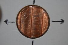 2 cent France 2008  désaxée 170° error fauté Fehlprägung difformée Pessac MDP