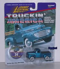 Johnny Lightning Truckin America 1950 F-1 Ford Pickup 50 Hot Rod Limited 1:64 W