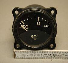 Flugzeug Instrument Temperaturanzeiger FL20349 -50 - +40  FW190 ME109 Ju88 [580]