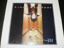 """LINDA RONSTADT """"LIVING IN THE USA"""" & EMMY LOU HARRIS DOULBE PAK SEALED ALBUMS"""