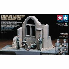Tamiya 89742 Scene Set 4 German Infantry Italian Campaign 1/35 Scale Plastic Kit