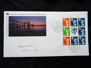 GB Scotland 'The Scots Connection' First Day Cover 21st March 1989 s551 pane