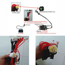 Diesel's Car Parking Heater Temperature Switch Control Triangle Plug Wire Cable