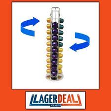 Kapselhalter drehbar für 40 Nespresso Kapseln NEU Kapselspender EDEL aus Chrom