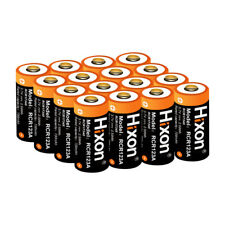 Protected 16340 RCR123A Arlo Camera Battery 3.7V Rechargeable Li-ion Batteries