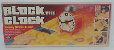 Vintage BLOCK THE CLOCK-Family Action Game--IDEAL--Great fun game!