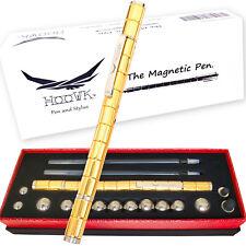 Stylo magnétique 100% modulable Original et Insolite. Cadeau idéal noël (Or)