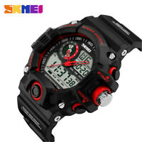 SKMEI Men Watches LED Digital Military Sport Watch Camouflage Rubber Wristwatch