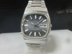 Vintage 1975 CITIZEN Electronic watch [COSMOTRON Special] Cal.7803 36000bph