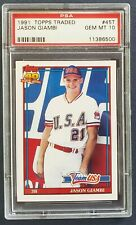 1991 Topps Traded - Jason Giambi R/C 45T / PSA 10 GEM MT