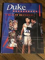 1995-1996 Duke University Basketball Yearbook-Excellent Condition