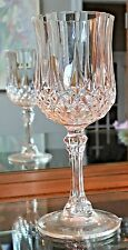 CRISTAL D' ARGUES LONGCHAMP LEAD CRYSTAL CORDIAL OR SHERRY GLASS