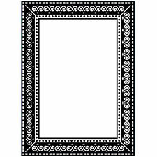 Photo Frame Darice Embossing Folder for Cardmaking, Scrapbooking, etc