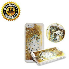 T-Mobile Glitter Bling Case Gold 3D Floating and Star Liquid For iPhon