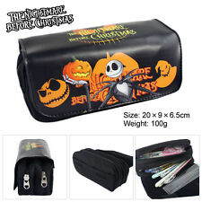 The Nightmare Before Christmas Cosmetic Brush Travel Bag Case Pen Pencil Pouch