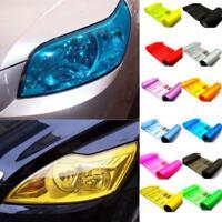 30*60/30*100cm Car Headlight Sticker Tint Film Taillight Fog Light Wrap 11Colors