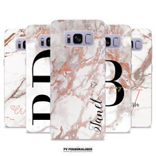 PERSONALISED SOFT CASE MARBLE COVER FOR SAMSUNG GALAXY S7 S8 S9 S10 + EDGE