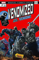 Venomized 1 SKAN Incredible Hulk 181 Homage Variant Spider-Man Venom Weapon H