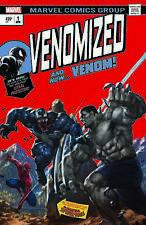 Venomized 1 SKAN Incredible Hulk 181 Homage Variant Spider-Man Venom Weapon H