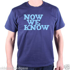 Inspired by Mitchell & Webb T Shirt - Now We Know Classic TV Comedy Peep Show