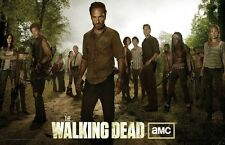The Walking Dead poster print  : 11 x 17 inches - Andrew Lincoln and cast poster
