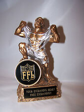 FANTASY FOOTBALL HULK  MONSTER INDIVIDUAL TROPHY AWARD - FREE ENGRAVING!!!!