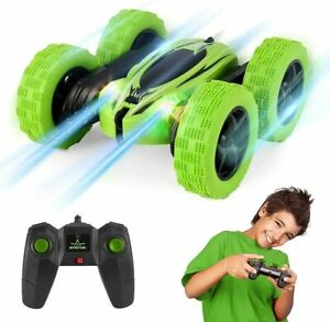 Large Remote Control Stunt Car Turbo Spin Electric RC Toy 360° Flip Racing Truck