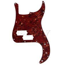PB Bass Pickguard P Bass Scratch Plate Brown Tortoise Shell 3 Ply 13 Holes