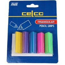 Celco Triangular Pencil Grips Pkt 5 ***291170***