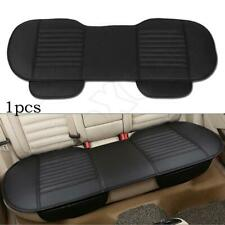 Car Rear Seat Cover Black Breathable PU Leather Pad Mat Chair Cushion Universal