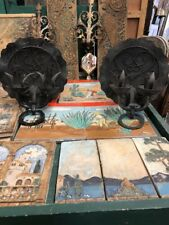 Spanish Mission Style Double Candle Sconces