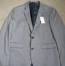 Mens Light Grey Smart Burton's Jacket Blazer Size 38 R BNWT  - (S33)