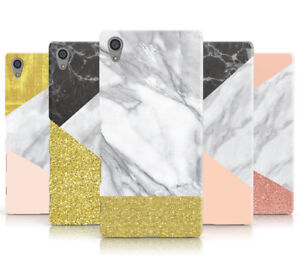 GEOMETRIC MARBLE COLLECTION B HARD MOBILE PHONE CASE COVER FOR SONY XPERIA L1