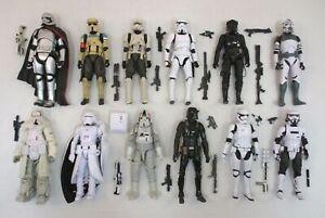 Star Wars Black Series Troop Builder Lot of 12 Figures Stormtroopers First Order