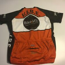 Mens L PRIMAL Cycling S/S Shirt Bike to Jack Daniels Back VIBE 21st Anniversary