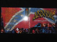RARE CD LYNYRD SKYNYRD / SATURDAY NIGHT SPECIAL / LIVE 1973 - 1975 /