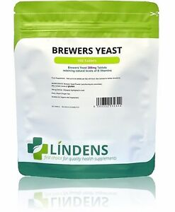 Brewers Yeast 300mg Tablets (500 pack) Lindens