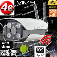 4G Remote Security Camera GSM House Farm Wireless Alarm System  IP CCTV View 3G