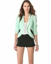 NWT SMYTHE Lace Blazer in Mint SZ 4 $775