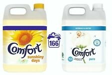 Comfort Fabric Conditioner 5 Litre 166 Washes Laundry Softener - Free P&P