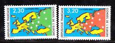 ¤¤ Yvert service 104/105 - Conseil de l'Europe 1990 - Neuf**  ¤¤
