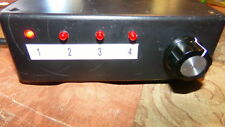4-Channel Selector Switch Box, Works Great SHIPS FREE!