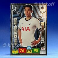 Panini Premier League 19//20 Limited Edition Premium Gold HEUNG-MIN fils Tottenham