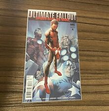 Ultimate Fallout Spider-Man #4, 2nd Print! Never read, Near Mint! Cgc Ready!