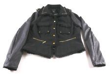 Venus Womens Jacket Black Size S Stud Spike Rock Motorcycle Style Ships FREE
