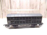 B9 ) wagon transport de petits animaux LILIPUT en boite  train electrique HO